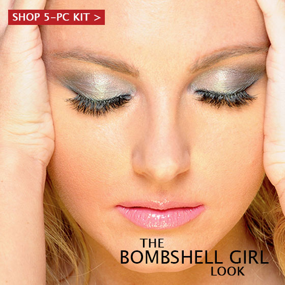 Bombshell Girl Look Banner by Khuraira