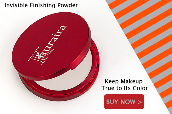Khuraira Invisible Finishing Powder Keeps Makeup True