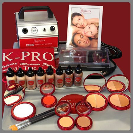 Khuraira Cosmetics K-PRO Airbrush Makeup Kit 3